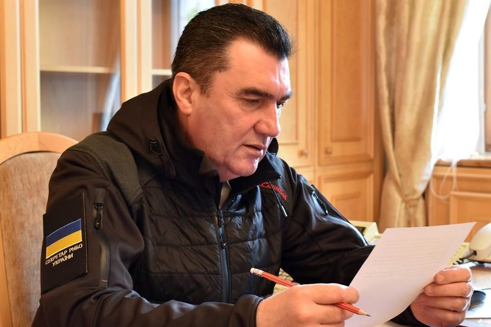 Руководитель Совета нацбезопасности и обороны Украины Алексей Данилов. Фото: facebook.com/danilov.oleksiy
