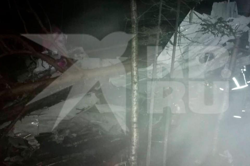 "Место аварийной посадки самолета. Фото: предоставлено ""КП"""