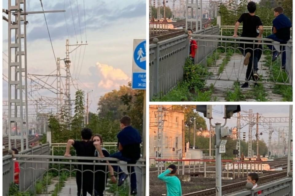 Развлечения на железной дороге смертельно опасны. Фото: vk.com/roddoma_tveri