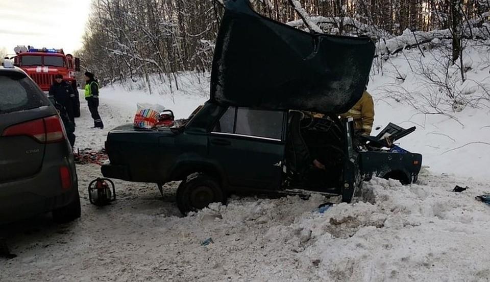 Иномарка влетела в «Жигули» на скорости 90 км/час