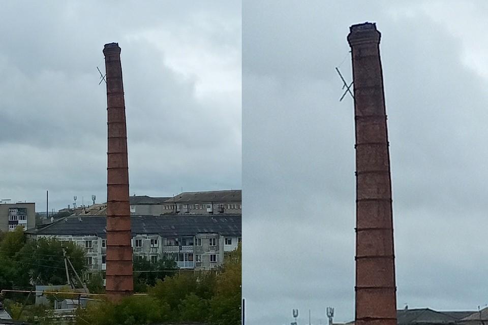 Башня медленно падает уже несколько лет. Фото: предоставлено Вадимом Заболотским