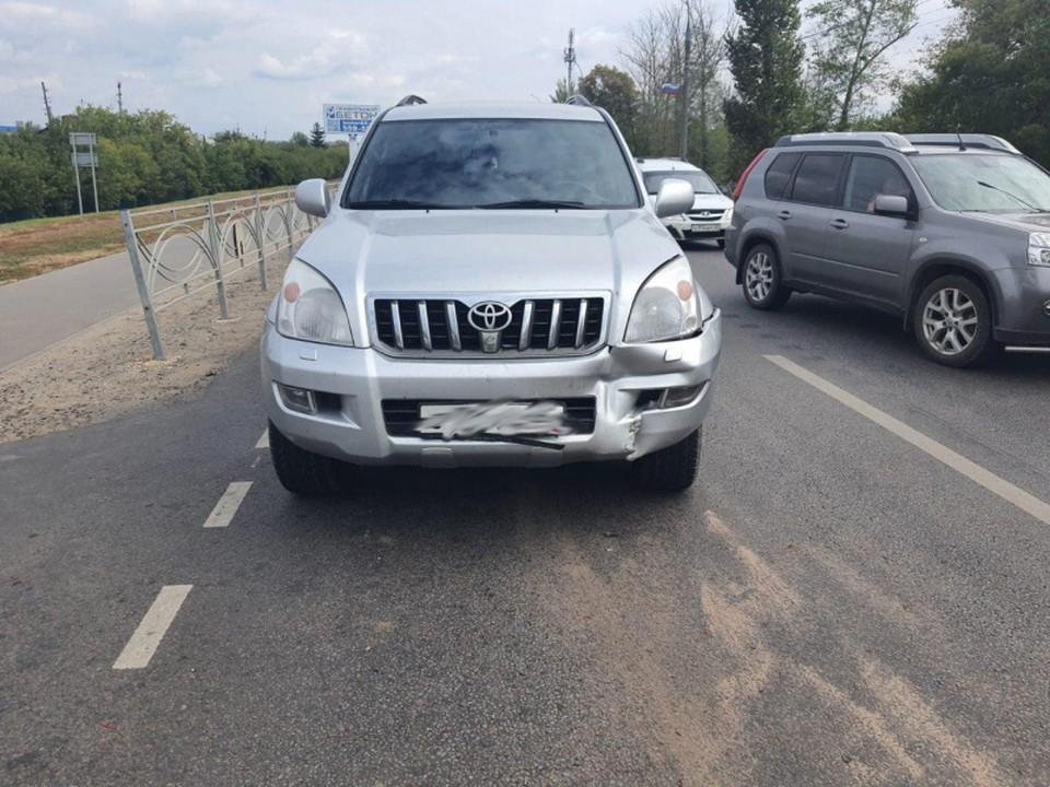 Авария случилась на Рассказовском шоссе