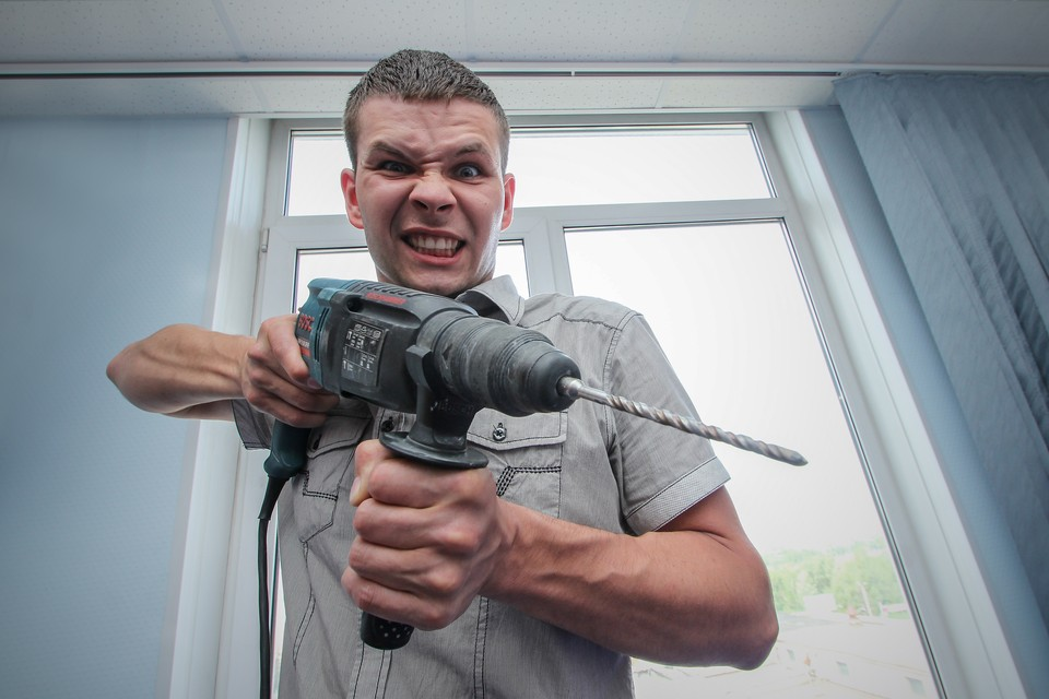 Сосед с дрелью может оказаться далеко не худшим из зол