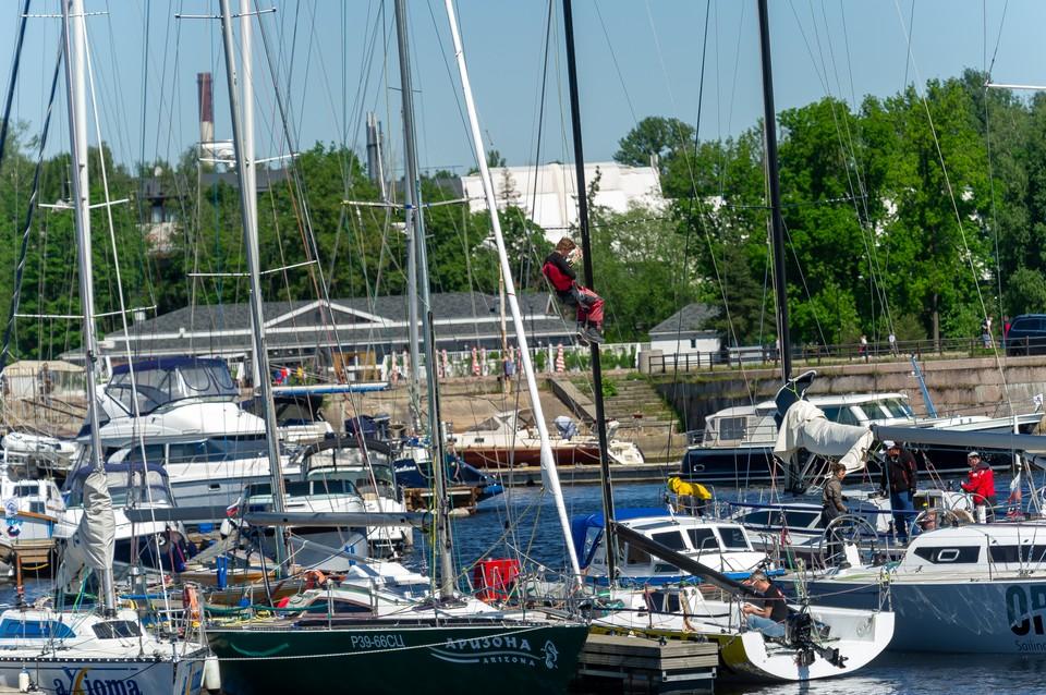 Очередной яхт-клуб в Санкт-Петербурге планируют закрыть.