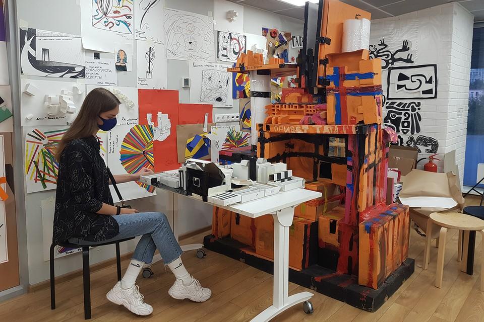 Третьяковская галерея на Крымском Валу открывает 1 октября творческие мастерские.