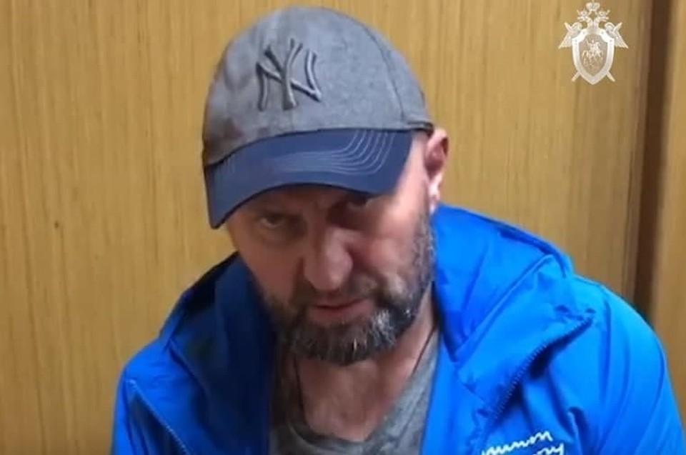 Допрос Александра Мавриди в СК. Фото: скрин видео