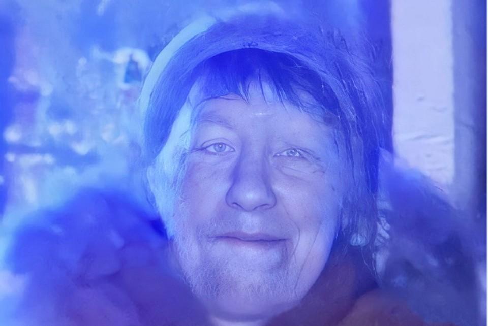 На момент пропажи Наталья Бурык была одета в голубые сланцы и серую меховую шапку. Фото: поисковый отряд «Лиза Алерт»