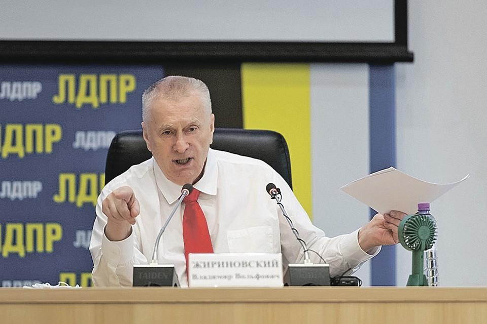 Владимир Жириновский уверен: когда власть прислушивается к ЛДПР, улучшения видны сразу!