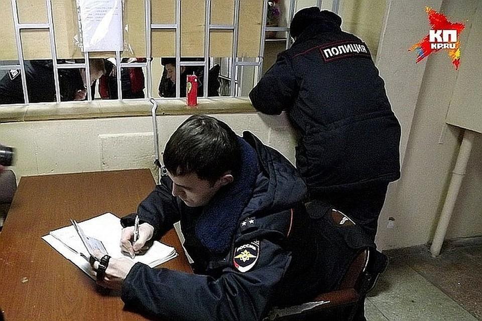 Злоумышленников задержала полиция