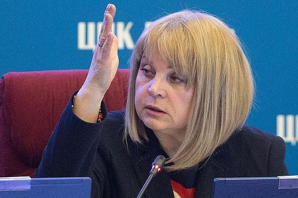 Председатель ЦИК Элла Памфилова. Фото: Сергей Бобылев/ТАСС