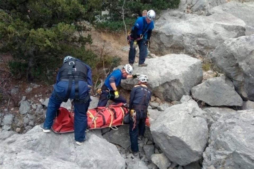 На Кавказе при сходе ледника Алибек погибла туристка из Красноярска. Фото: МЧС по Карачаево-Черкесской Республике