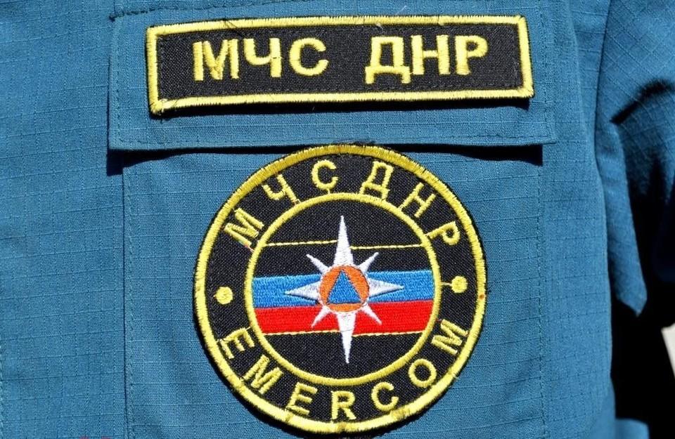 В Торезе на пожаре пострадал подросток. Фото: МЧС ДНР