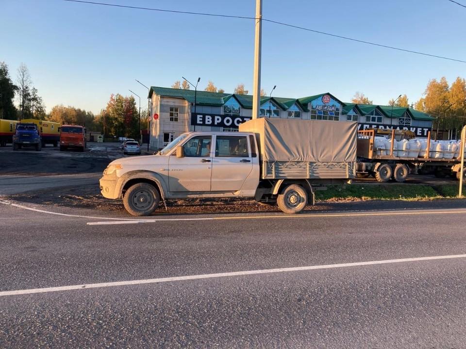 В Нефтеюганском районе сбитый водителем УАЗа пешеход скончался в больнице Фото: УГИБДД России по ХМАО-Югре