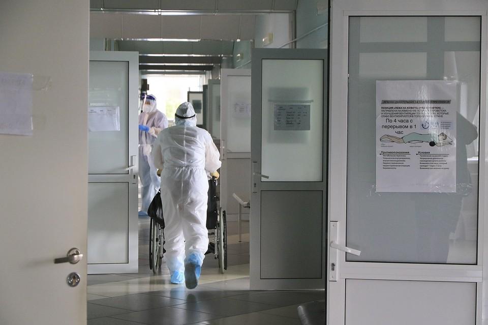Лечение в стационарах сейчас получают 3514 пациентов
