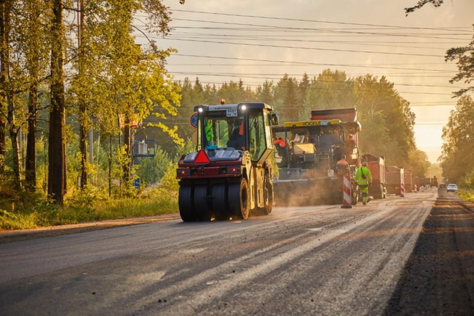 Во Всеволожском районе открыли обновленную трассу Елизаветинка - Медный Завод. Фото: lenobl.ru