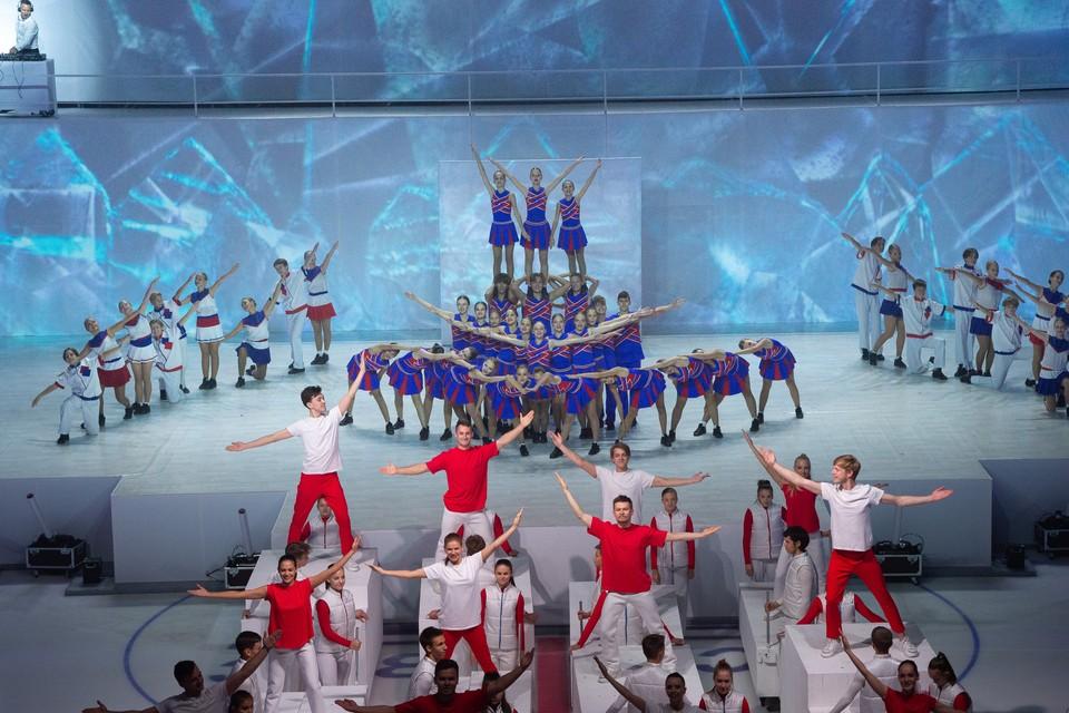 Яркое шоу порадовало участников торжественной церемонии открытия.