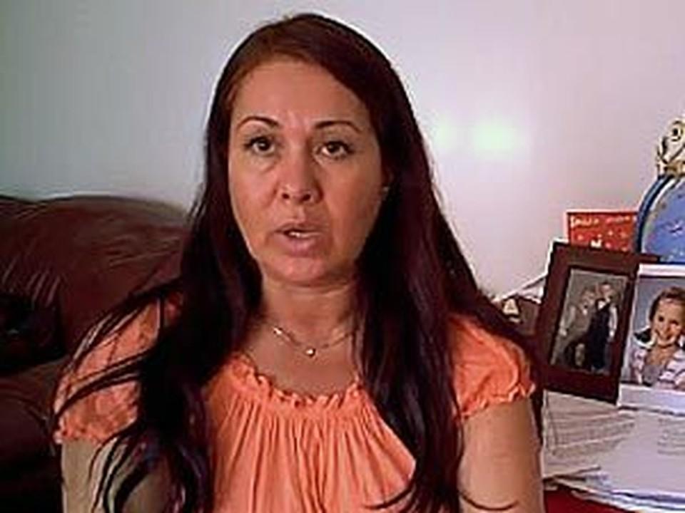 Валентина Путконен говорит, что не била свою дочку.