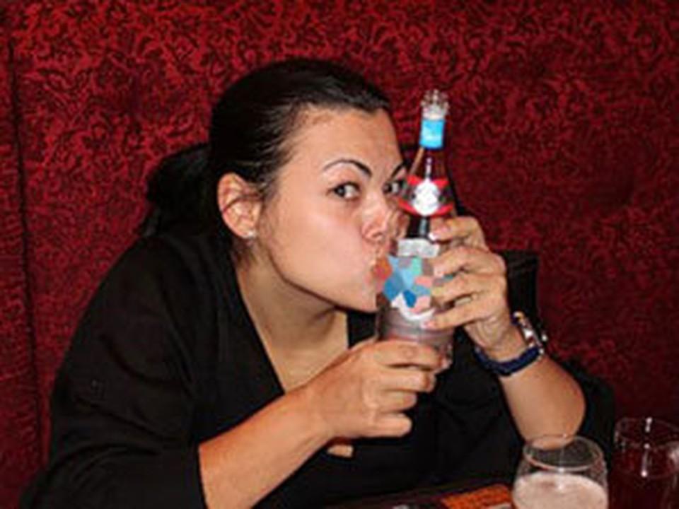 В Улан-Удэ судью уволили из-за непристойных фото в социальной сети. Фото с сайта www.burinfo.org/news/levangovskaya_kompro.