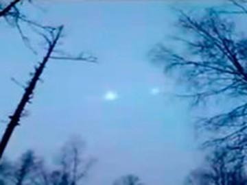 Загадочные огни над Иркутской областью