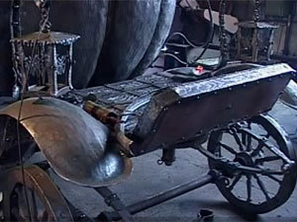 Кузница Брастка пополнилась еще одним шедевром. Фото с сайта bst.bratsk.ru.