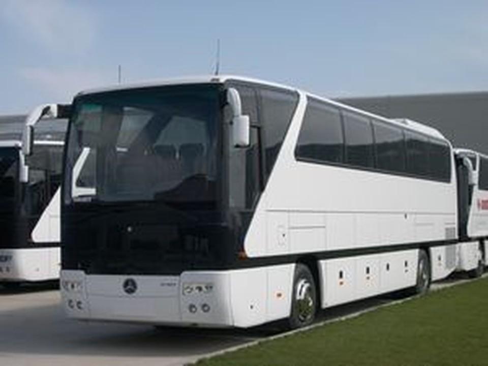 В Турции перевернулся автобус с туристами.