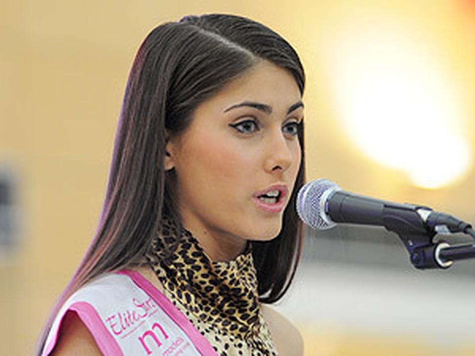 Сибирячка Даша Сидорова стала четвертой красавицей в стране.