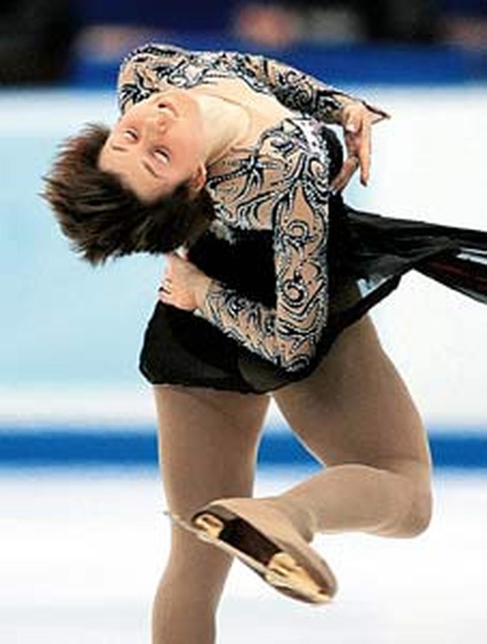 Выиграв этап Гран-при в Пекине, Слуцкая надеется  повторить успех в Москве и вернуться в мировую элиту одиночного катания.