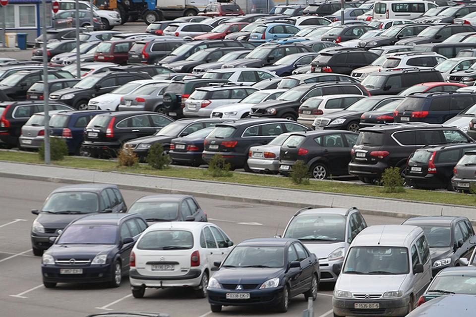 С парковсками в Минске проблема