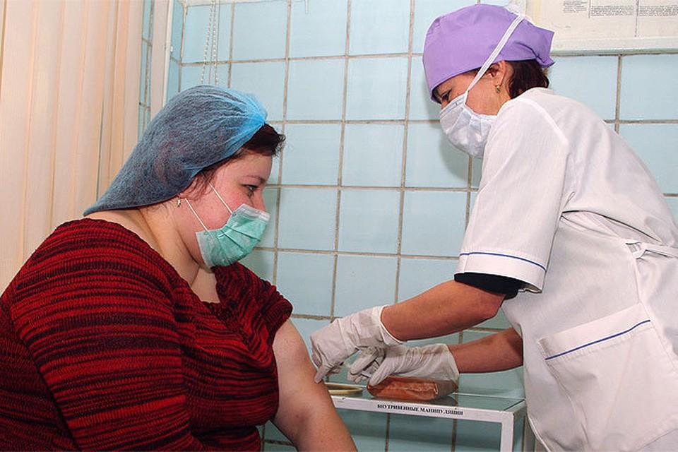 В Крымске организованы пункты добровольной вакцинации.