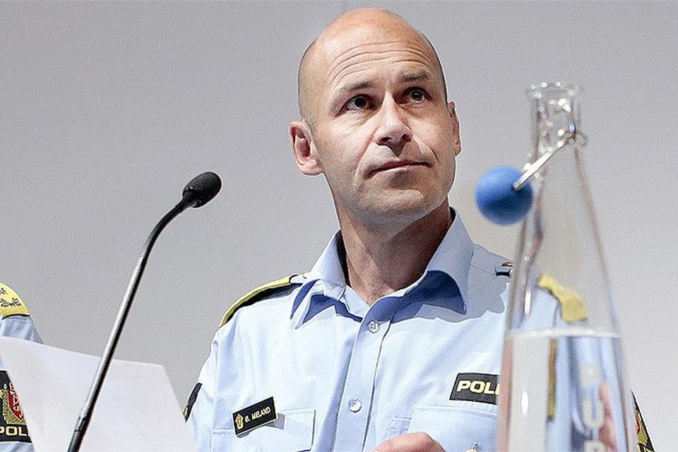 """Главный полицейский Норвегии подал в отставку после обнародования результатов независимого расследования """"Дела Брейвика""""."""