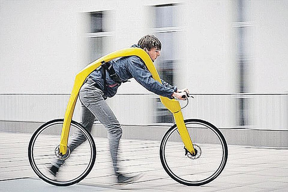 велосипед с членом в седле видео