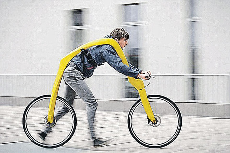 Велосипед член видео
