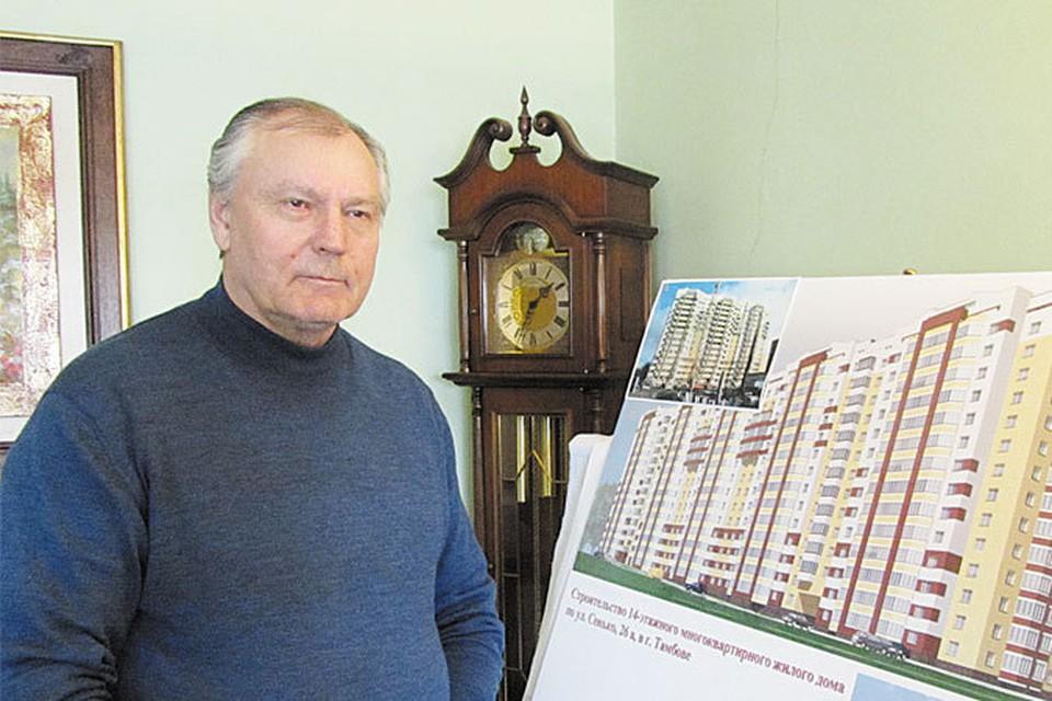 Генеральный директор ООО «Жилищная инициатива-5» Павел Горбунов.