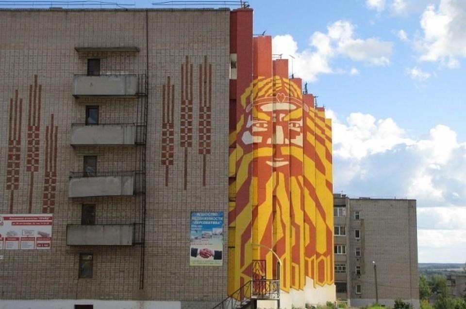 Та самая пятиэтажка в Кудымкаре