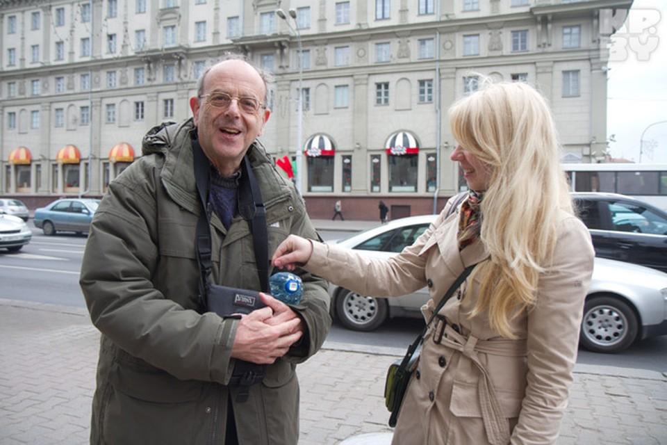 Боб Кросс, англичанин, который искал на карте музей Великой отечественной войны.