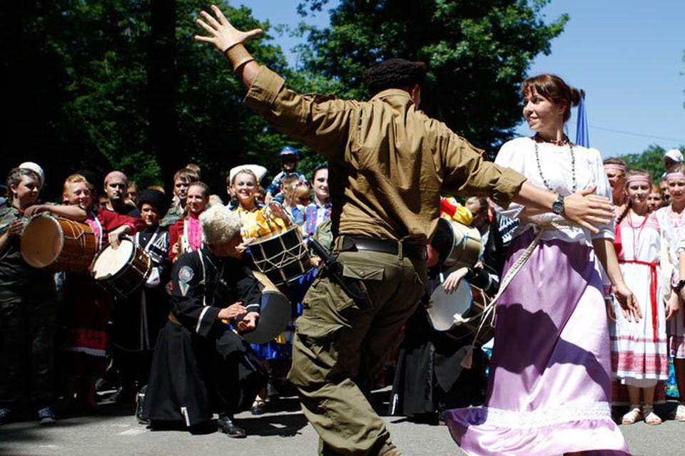 Переезд семиреченцев на Ставрополье - праздник!