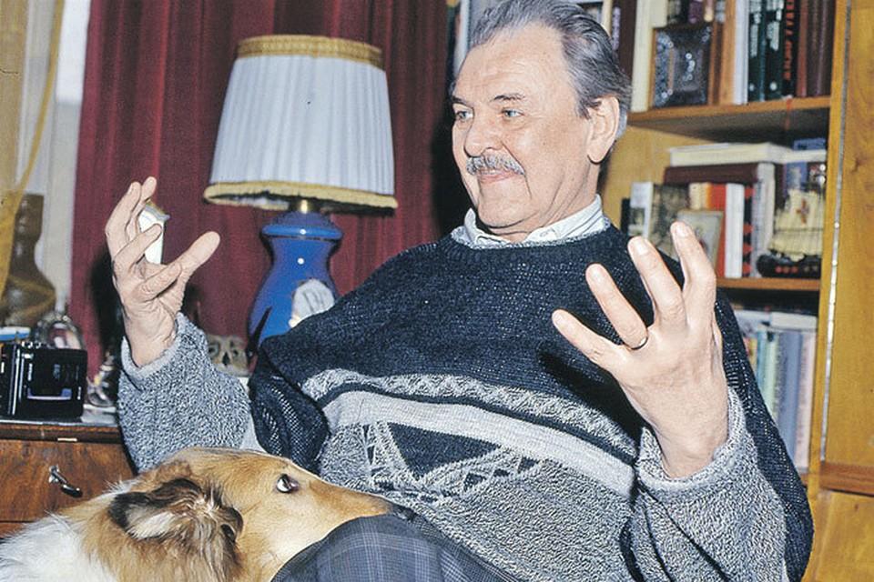 «Комсомолка» от миллионов наших читателей поздравляет любимого актера Юрия Яковлева.