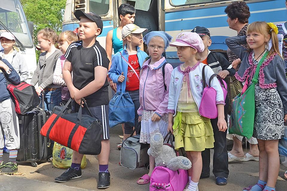 Известно, что в лагерь собираются поехать n детей и m взрослых.