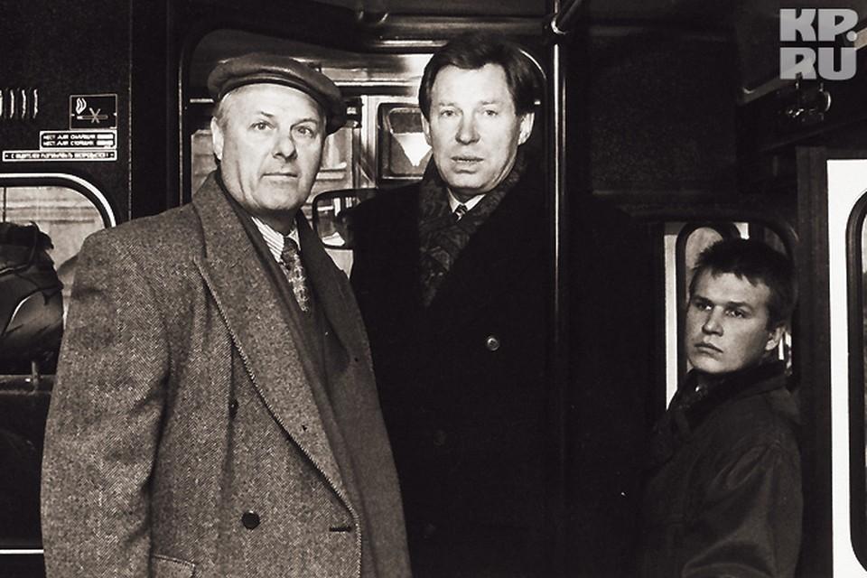 В 1996 году вице-мэр Владимир Яковлев (справа) обошел шефа на губернаторских выборах.