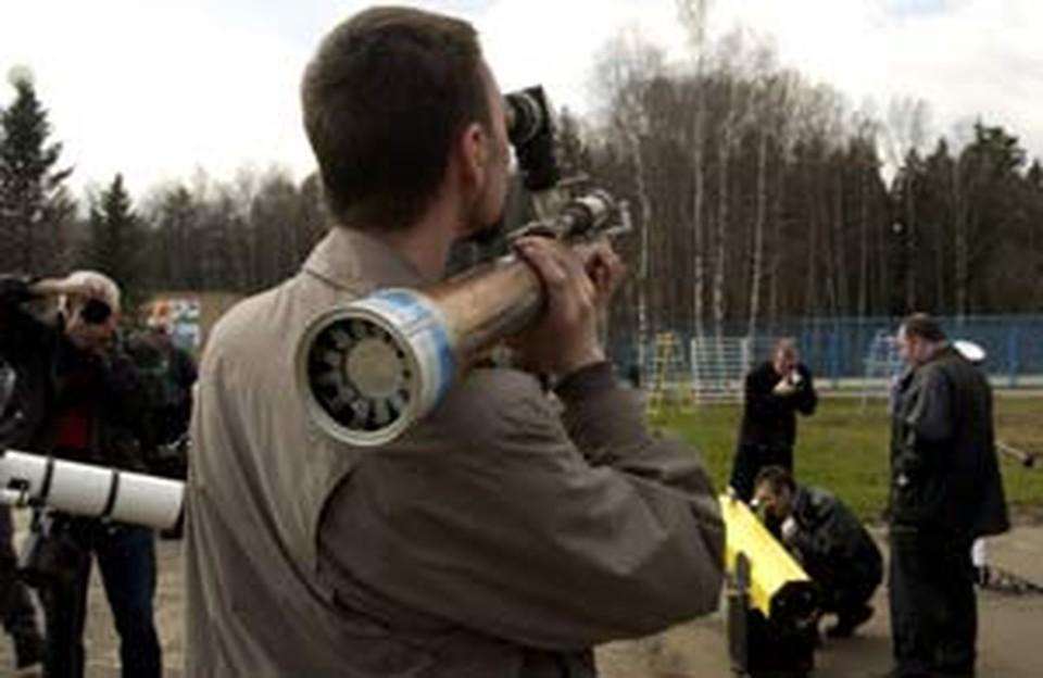 На «АстроФесте» можно и на коллег-романтиков посмотреть, и свою «трубу» показать.