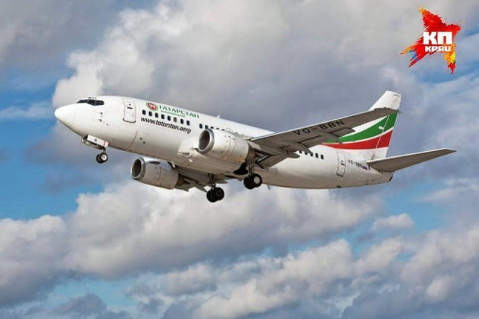 Самолет авиакомпании «Татарстан» рухнул при заходе на посадку
