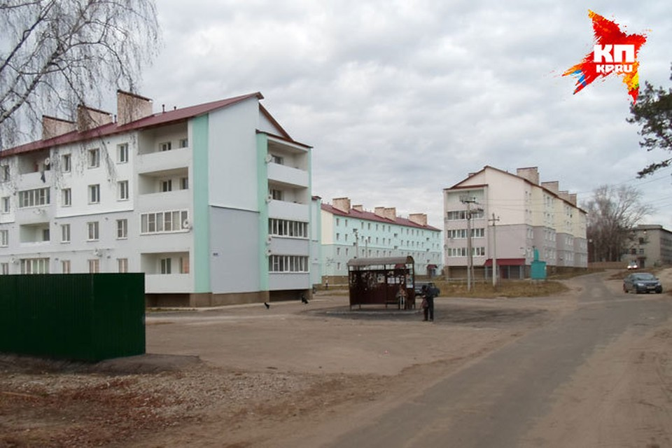 Новостройки в Шиморском.