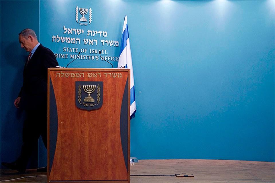 Нетаньяху не скрывал своего разочарования по поводу мирного разрешения ситуации с иранской атомной программой