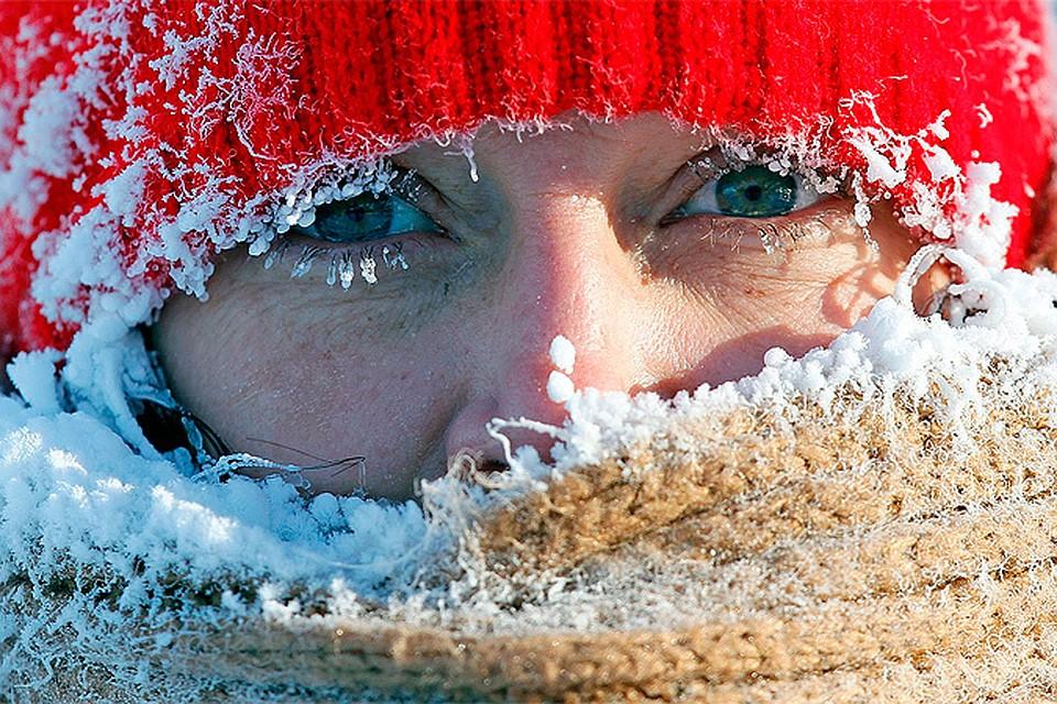 почему не замерзают глаза дойти из