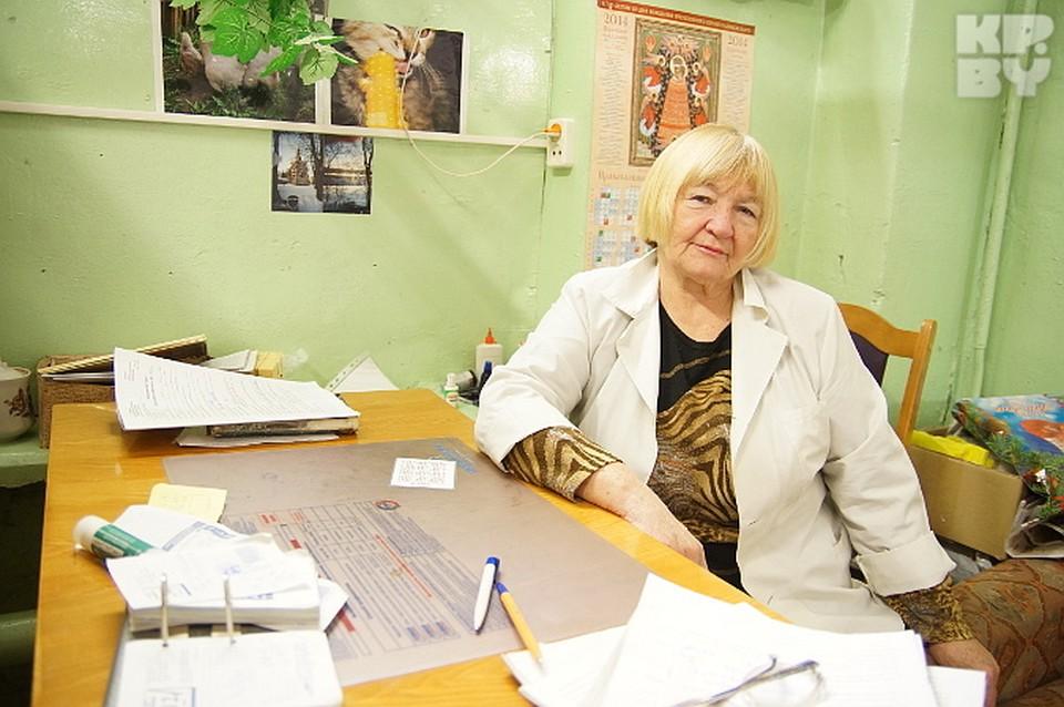 Одэна Куликова работает в комиссии уже 20 лет