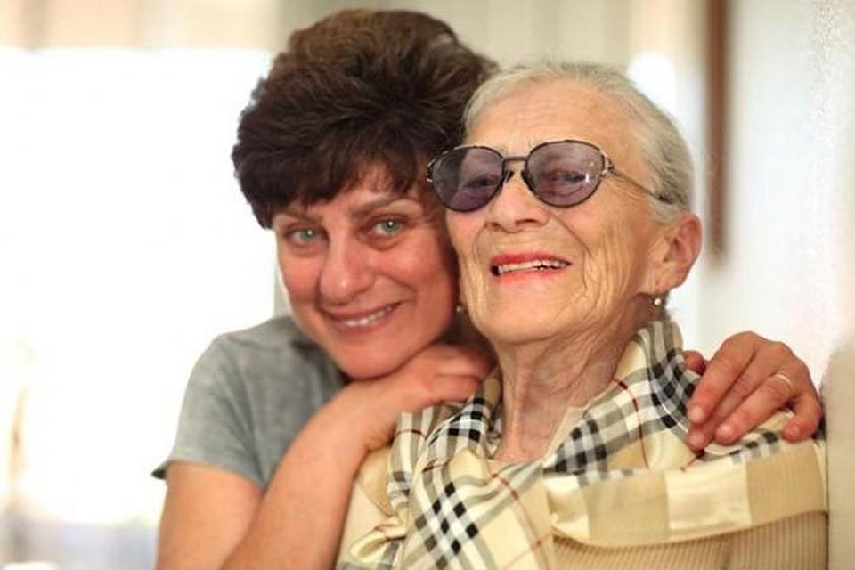 фото старих мамочек