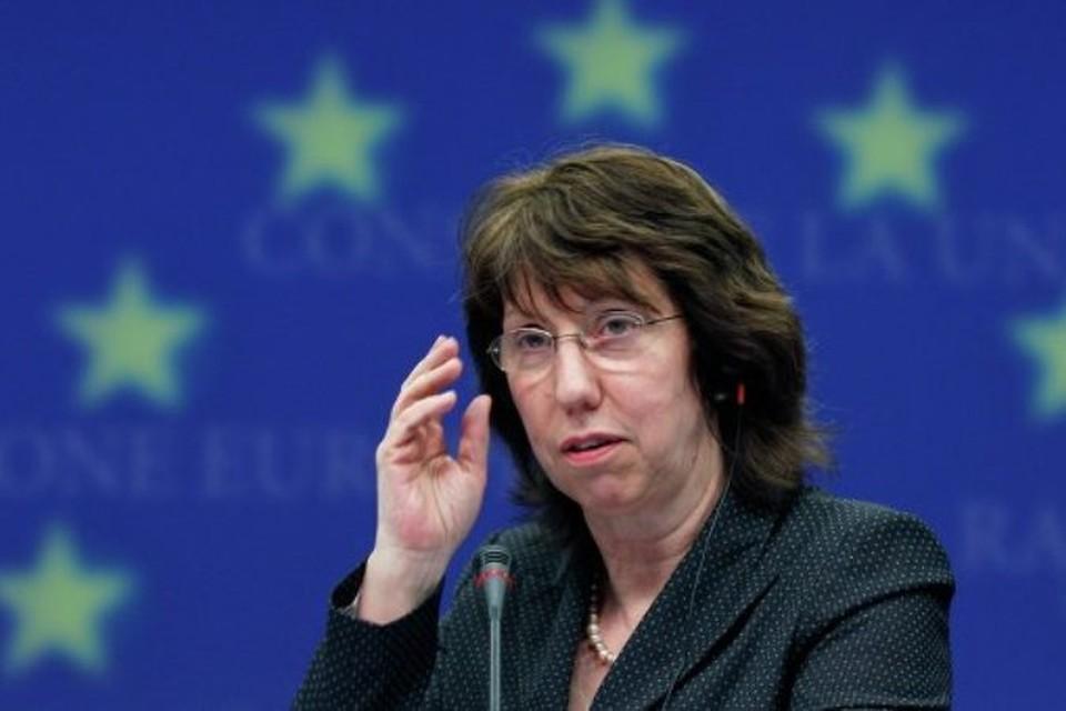 Верховный представитель Европейского союза по иностранным делам и политике безопасности Кэтрин Эштон