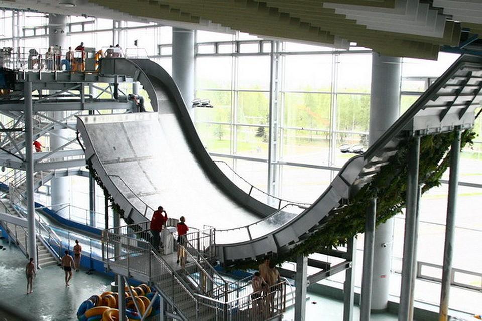 Лебяжий аквапарк схема