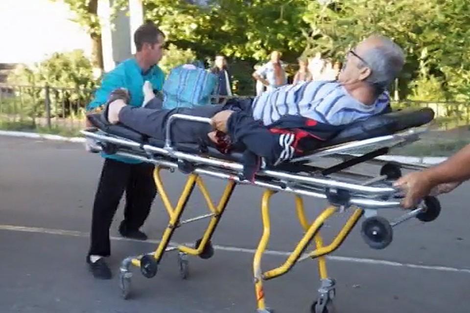 Разрывы раздались в центре Славянска сразу после обеда