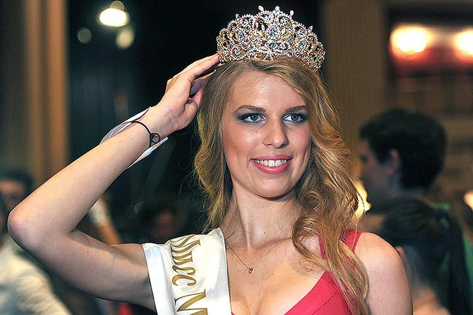 Корону «Мисс Москва-2014» получила балерина-акробатка Ирина Алексеева
